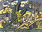 The Country Outing First State c1952 By Fernand Leger