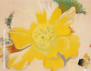 Untitled Cactus Flower 1940 By Georgia O'Keeffe