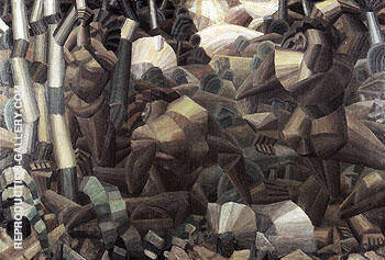 Nudes in the Forest c1909 Painting By Fernand Leger - Reproduction Gallery