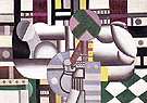 Woman and Still Life 1921 By Fernand Leger
