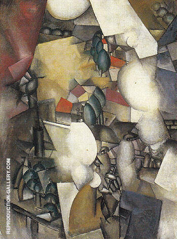 The Smokers c1911 By Fernand Leger