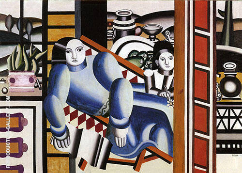Mother and Child 1922 By Fernand Leger