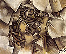 Fruit Dish on A Table 1909 By Fernand Leger