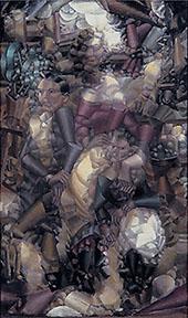 Three Figures 1910 By Fernand Leger