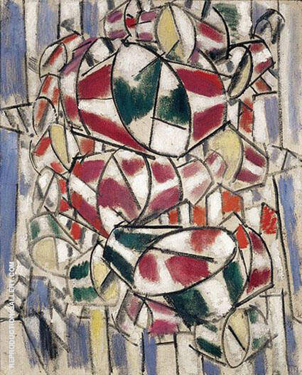 Contrast of Forms 1913 A Painting By Fernand Leger - Reproduction Gallery