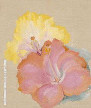 Untitled Hibiscus 1939 By Georgia O'Keeffe - Oil Paintings & Art Reproductions - Reproduction Gallery