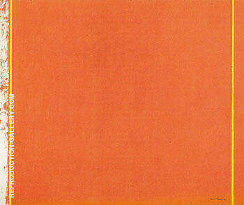 The Third 1962 By Barnett Newman - Oil Paintings & Art Reproductions - Reproduction Gallery