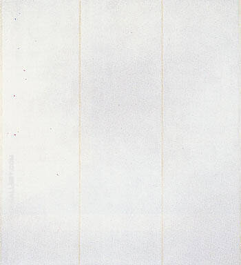 The Name 1950 II By Barnett Newman - Oil Paintings & Art Reproductions - Reproduction Gallery