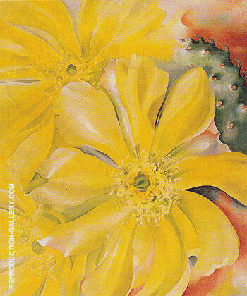 Yellow Cactus 1935 By Georgia O'Keeffe