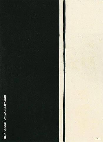 Black Fire 1961 By Barnett Newman