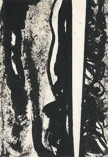 Untitled 1945 15 By Barnett Newman
