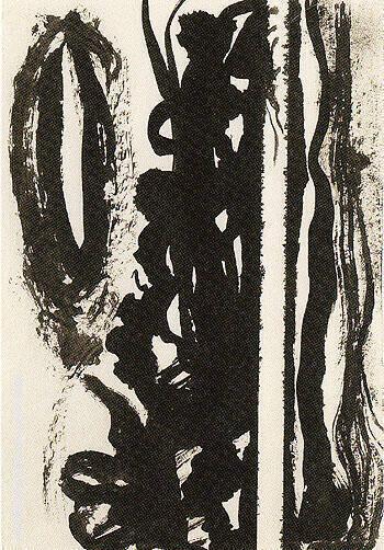 Untitled 1945 16 By Barnett Newman