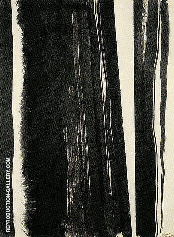 Untitled 1945 17 By Barnett Newman
