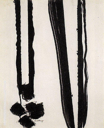Reproduction of Untitled 1945 18 by Barnett Newman | Oil Painting Replica On CanvasReproduction Gallery