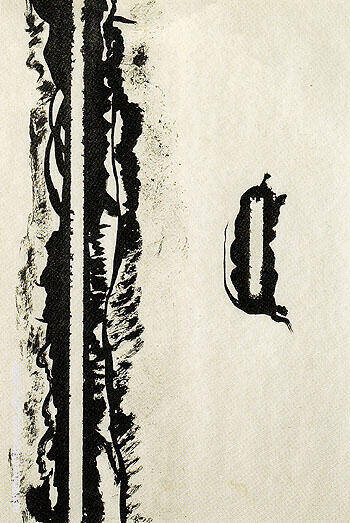 Untitled 1946 19 By Barnett Newman
