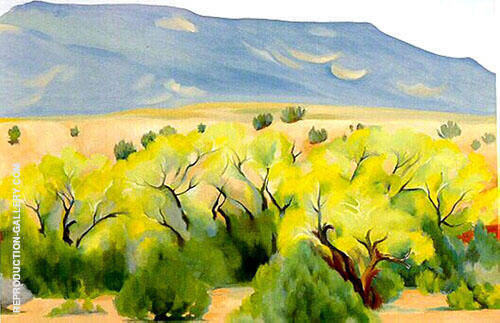 Cottonwood III 1943 Painting By Georgia O'Keeffe - Reproduction Gallery