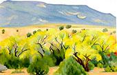 Cottonwood III 1943 By Georgia O'Keeffe