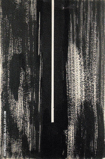 Untitled The Cry 1946 20 By Barnett Newman Replica Paintings on Canvas - Reproduction Gallery