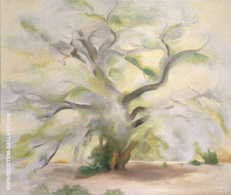 Cottonwoods Near Abiquiu 1950 By Georgia O'Keeffe