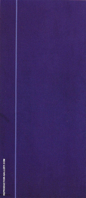 Queen of the Night II 1967 By Barnett Newman Replica Paintings on Canvas - Reproduction Gallery
