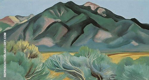 Taos Mountain New Mexico 1930 By Georgia O'Keeffe