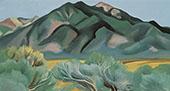 Taos Mountain New Mexico 1930 By Georgia O'Keeffe