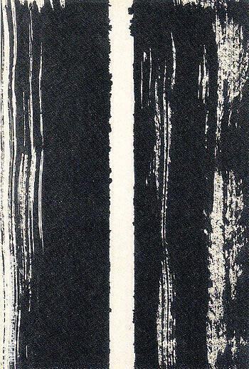 Untitled 1947 22 By Barnett Newman