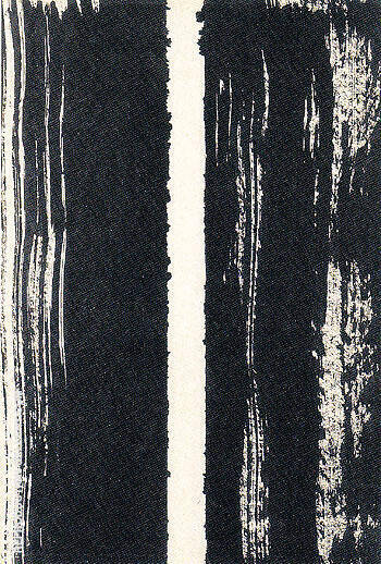 Untitled 1947 22 By Barnett Newman