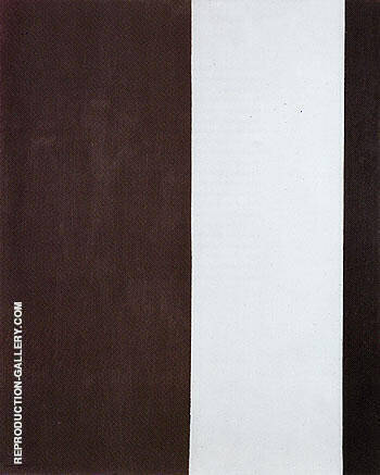 The Gate 1954 By Barnett Newman