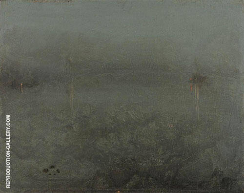 Nocturne Silver and Opal Chelsea By James McNeill Whistler