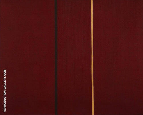 The Covenant 1949 By Barnett Newman Replica Paintings on Canvas - Reproduction Gallery