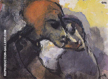 Friends By Emil Nolde - Oil Paintings & Art Reproductions - Reproduction Gallery