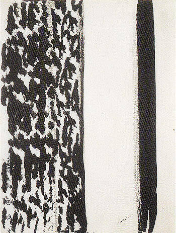 Untitled 1960 69 By Barnett Newman