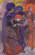 Group with Children By Emil Nolde