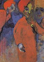 Three Women By Emil Nolde