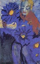 Flower Lady By Emil Nolde
