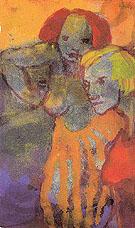 Two Women By Emil Nolde