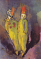 Costumed Couple By Emil Nolde
