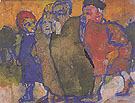 Group of People By Emil Nolde