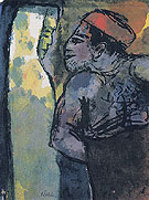 Dark Man and Woman By Emil Nolde