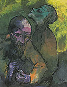 Old Man and Woman By Emil Nolde
