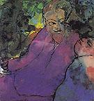 Grotesque Couple By Emil Nolde