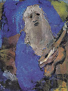 Hoary Old Man Singing By Emil Nolde