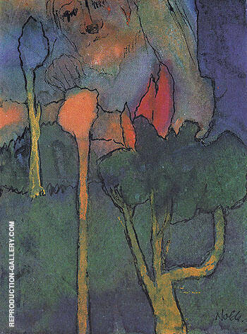 the great gardener by emil nolde oil paintings art reproductions reproduction gallery