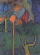 The Great Gardener By Emil Nolde