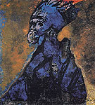 Old King By Emil Nolde