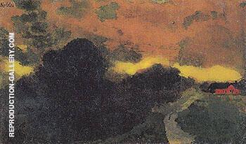 Dark Landscape North Friesland By Emil Nolde