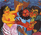 The Legend of St Maria Aegyptiaca 1912 A By Emil Nolde