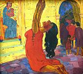 The Legend of St Maria Aegyptiaca 1912 B By Emil Nolde