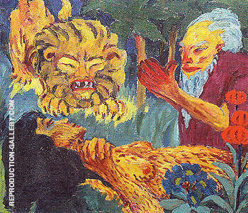 The Legend of St Maria Aegyptiaca 1912 C By Emil Nolde